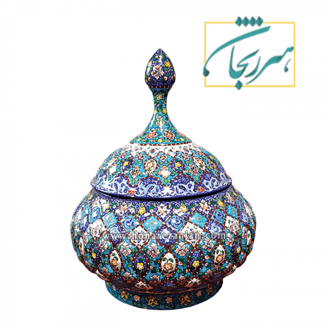 گز خوری میناکاری زنجان   خرید و قیمت گز خوری میناکاری زنجان   میناکاری زنجان